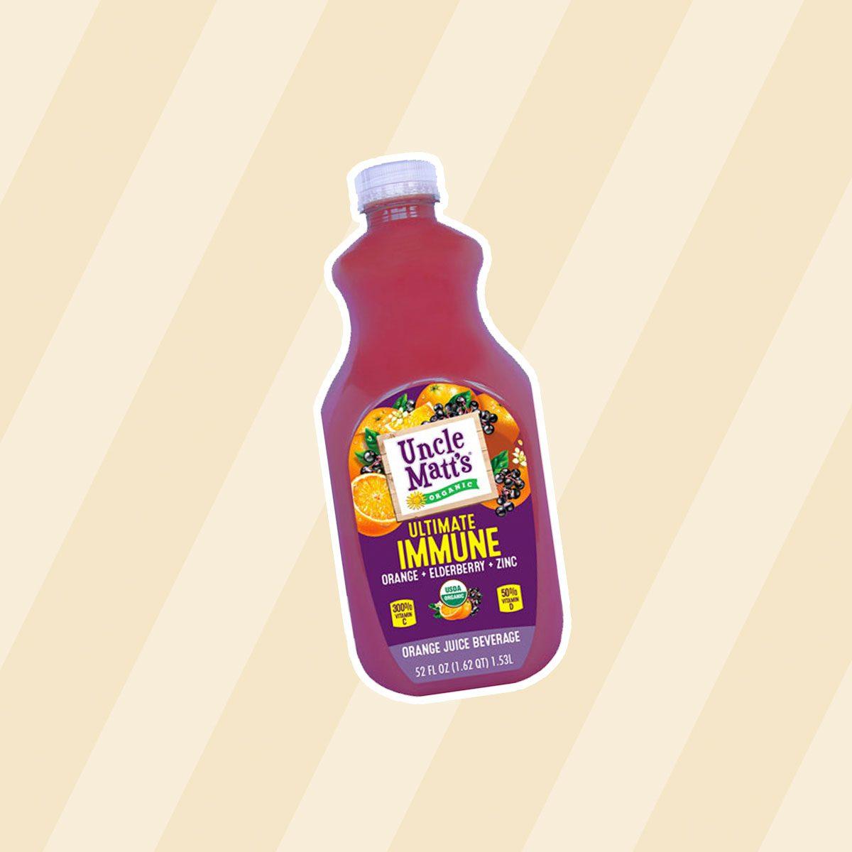 healthy snacks to buy Uncle Matt's Organic Ultimate Immune Juice