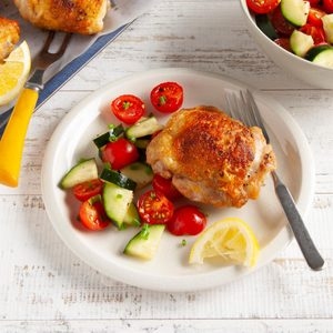 Air-Fryer Chicken Thighs