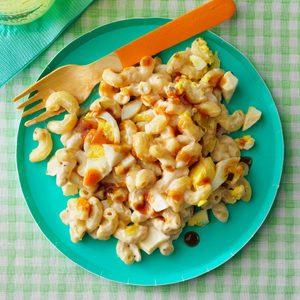 Barbecue Macaroni Salad
