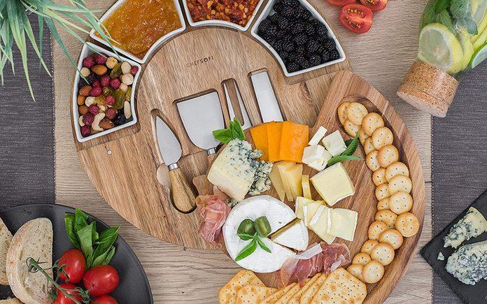 Cheese Cutting Board Set