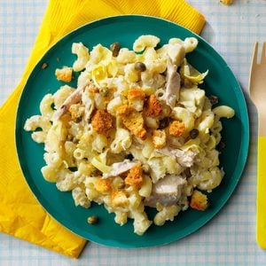 Chicken Caesar Macaroni Salad