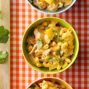 Chicken Taco Macaroni Salad