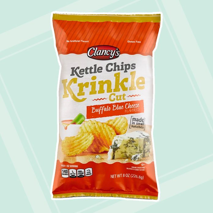 Clancy's Buffalo Blue Cheese or Horseradish Cheddar Krinkle Cut Kettle Chips