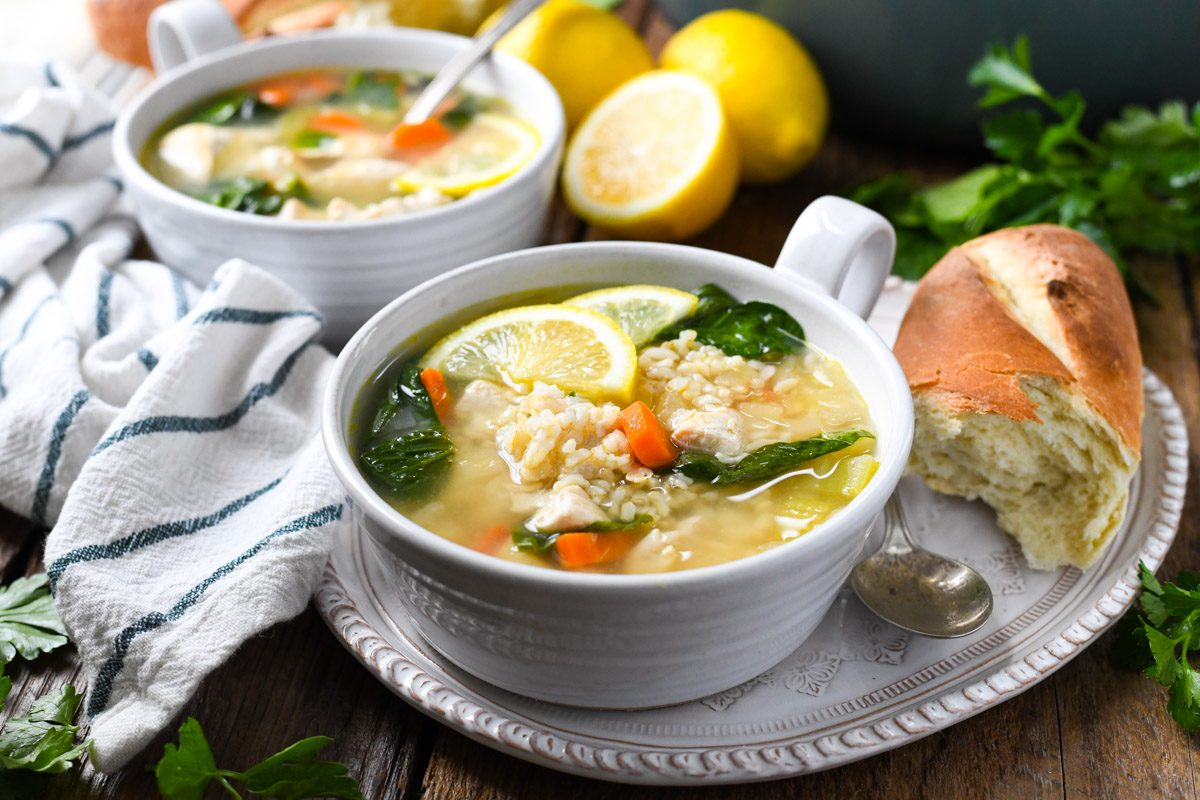 How to Make Panera's Lemon Chicken Soup at Home