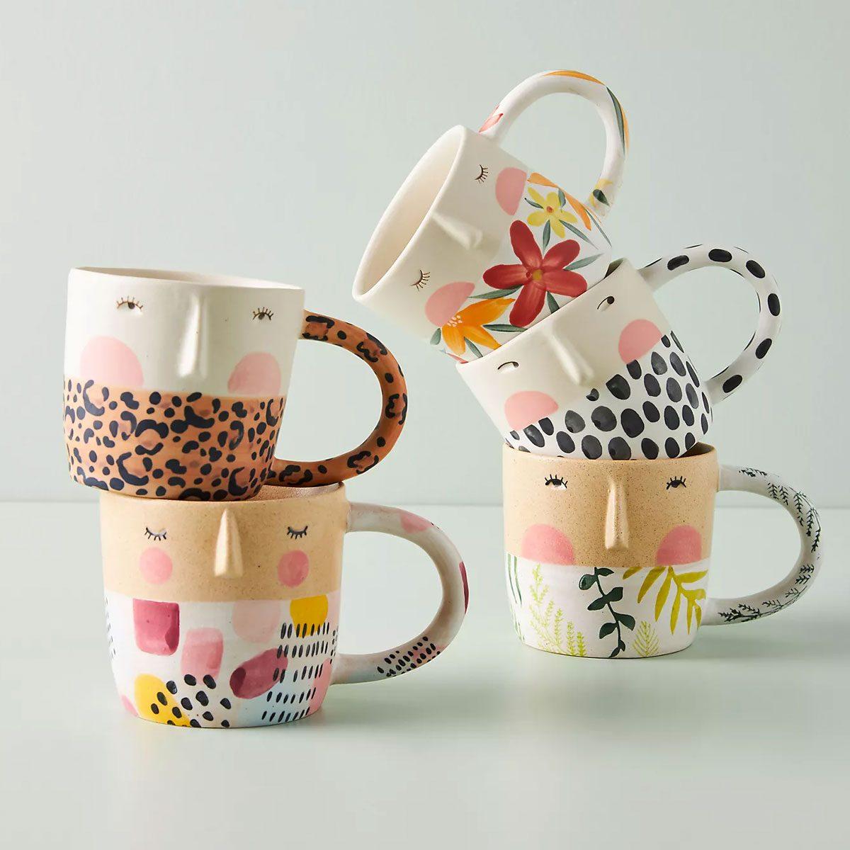 thinking of you gifts Fotini Tikkou Visage Mug