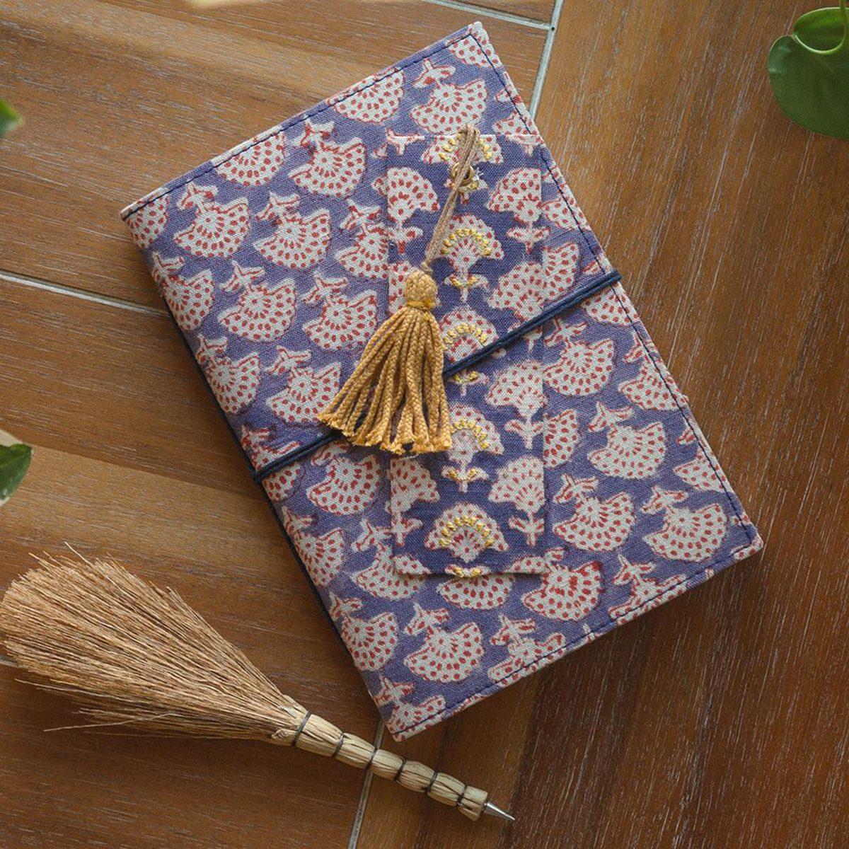 Isla Fabric Wrapped Journal