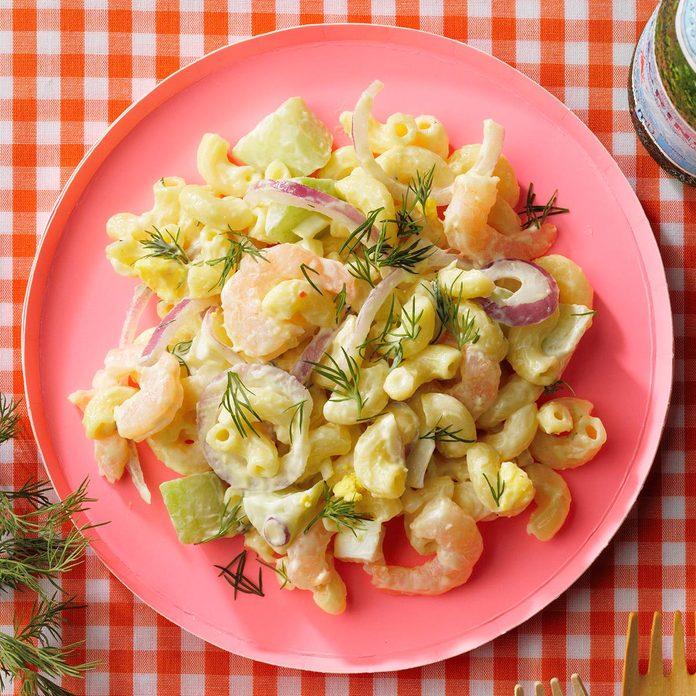 Scandinavian-Inspired Macaroni Salad