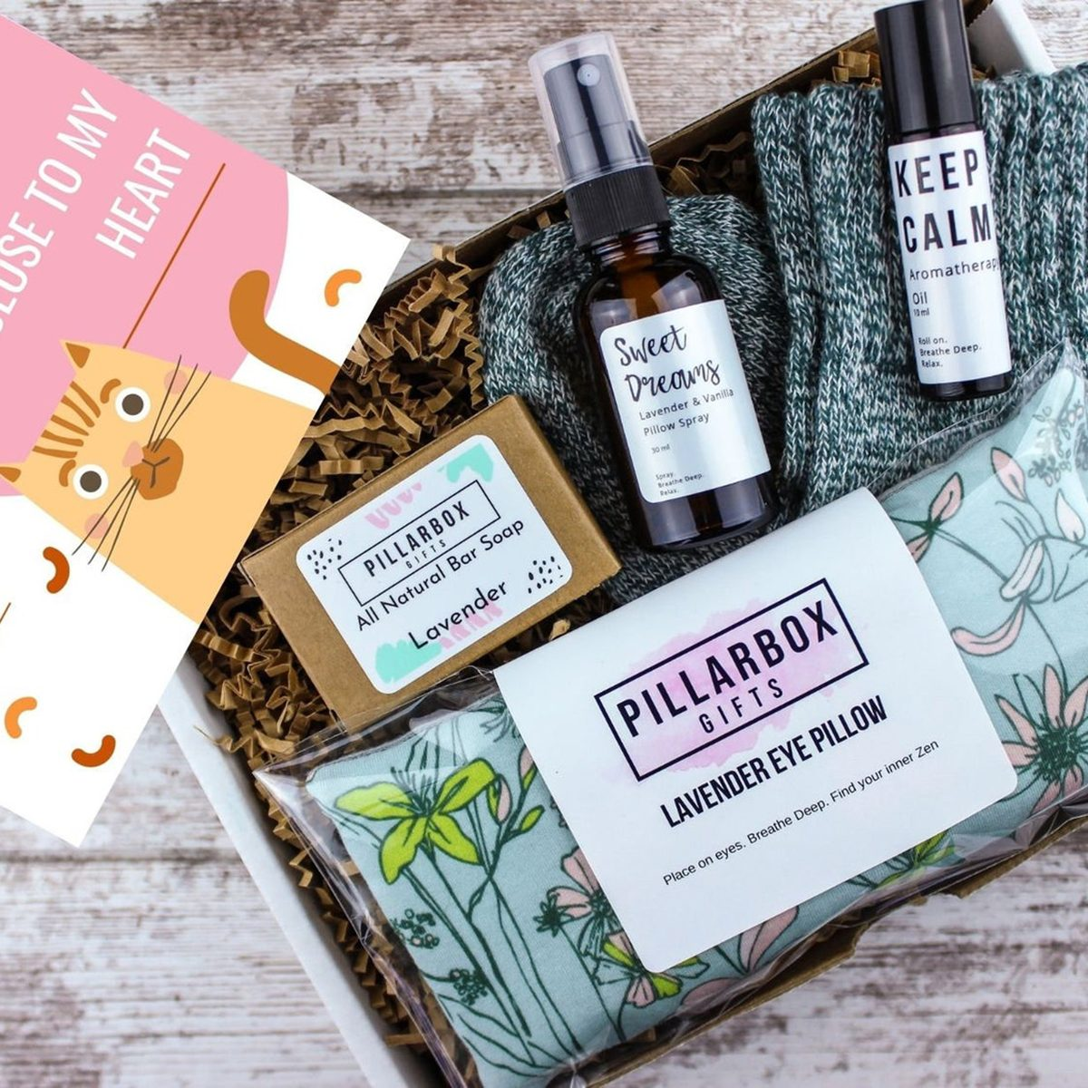 Social Distancing Self Care Package For Friend