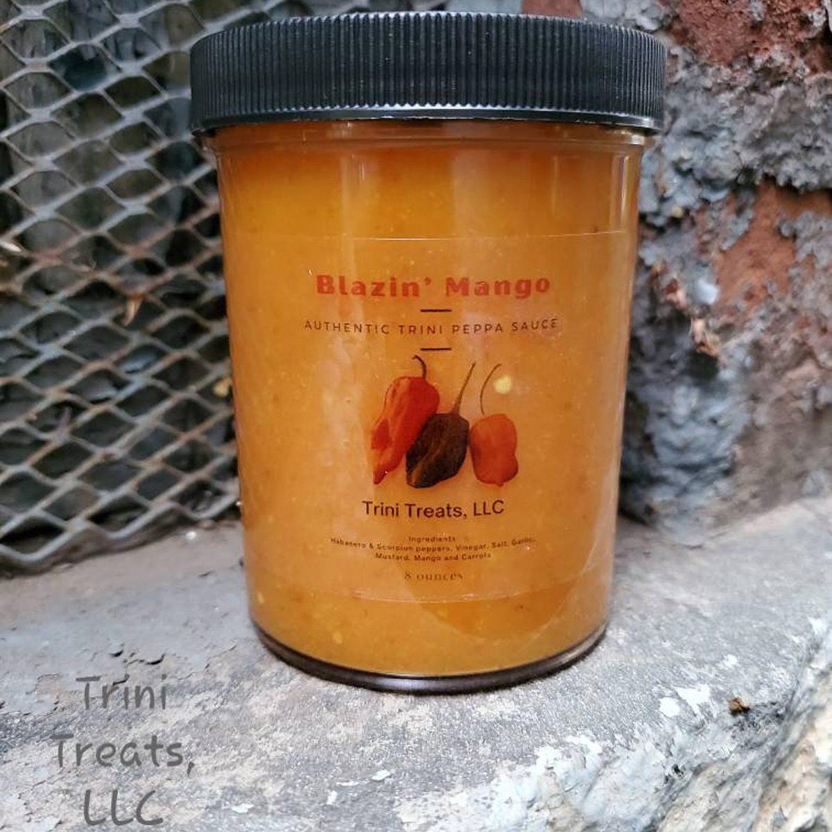 Trinidadian Blazin Mango Sauce