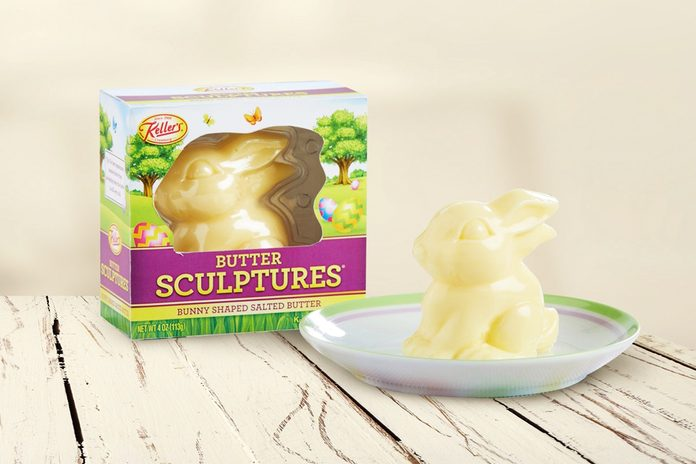KELLER'S CREAMERY BUNNY SHAPED SALTED BUTTER