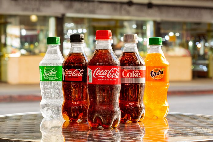 Coca Cola New Bottles