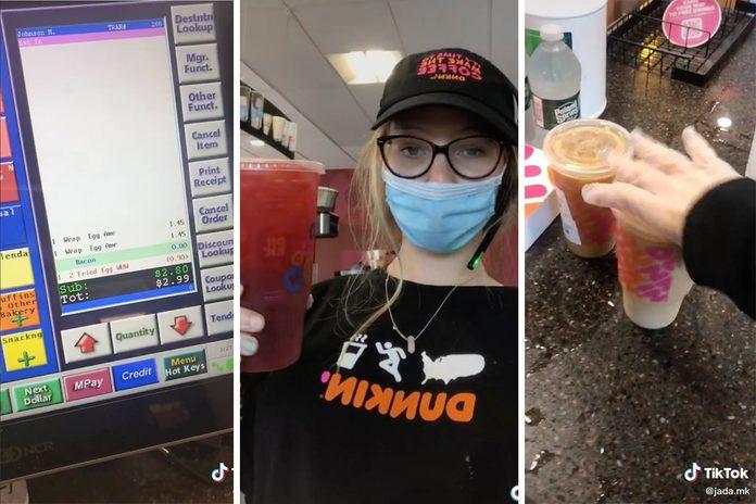 Dunkin Employee Hacks from TikTok