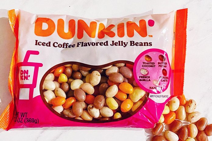 Dunkin' coffee flavored Jelly Beans