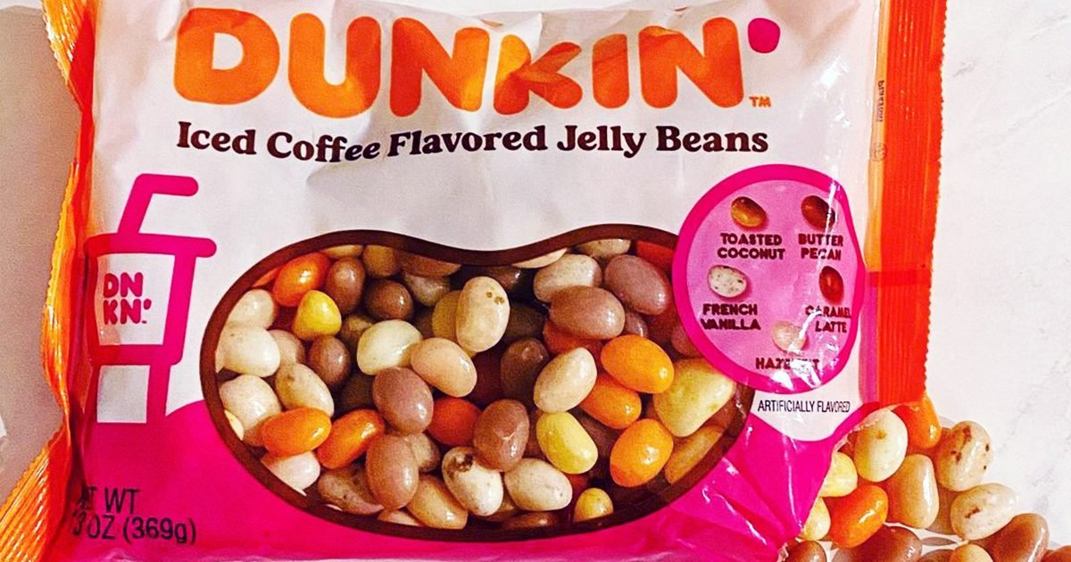 Dunkin' JUST Revealed Its Iced Coffee-Flavored Jelly Beans—and We NEED a Bag