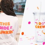 Dunkin' Just Launched a Collection of Wedding Merch for Coffee Lovers