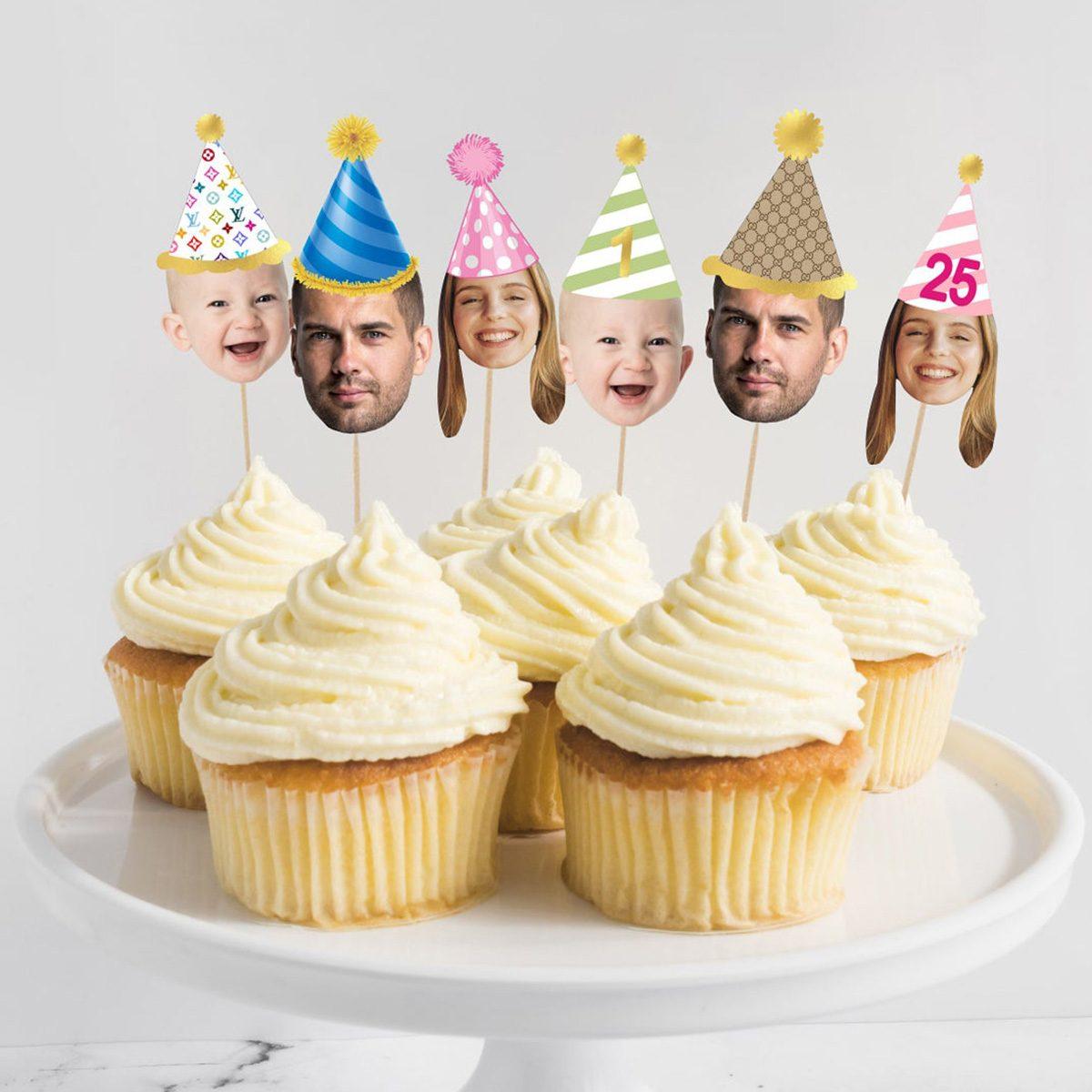 Cupcake Box Topper Cake Topper Occasion Box Topper Birthday