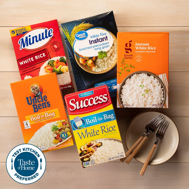 Test Kitchen Preferred the best Instant Rice TKP square