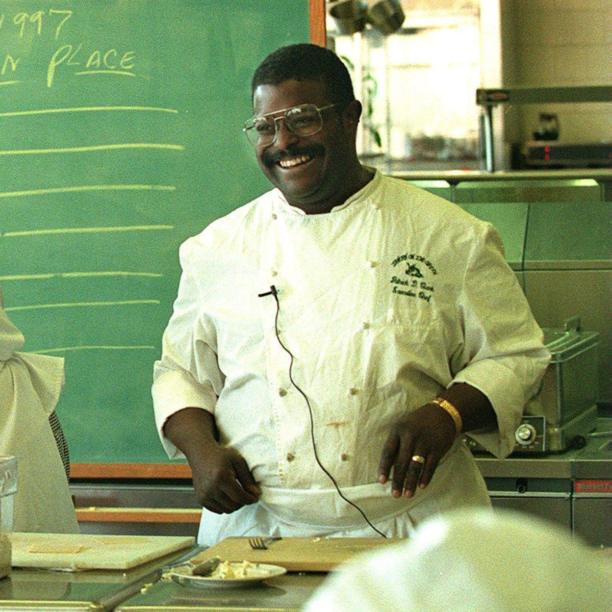 Chef Patrick Clark Teaches A Class A Madison Park H.s.
