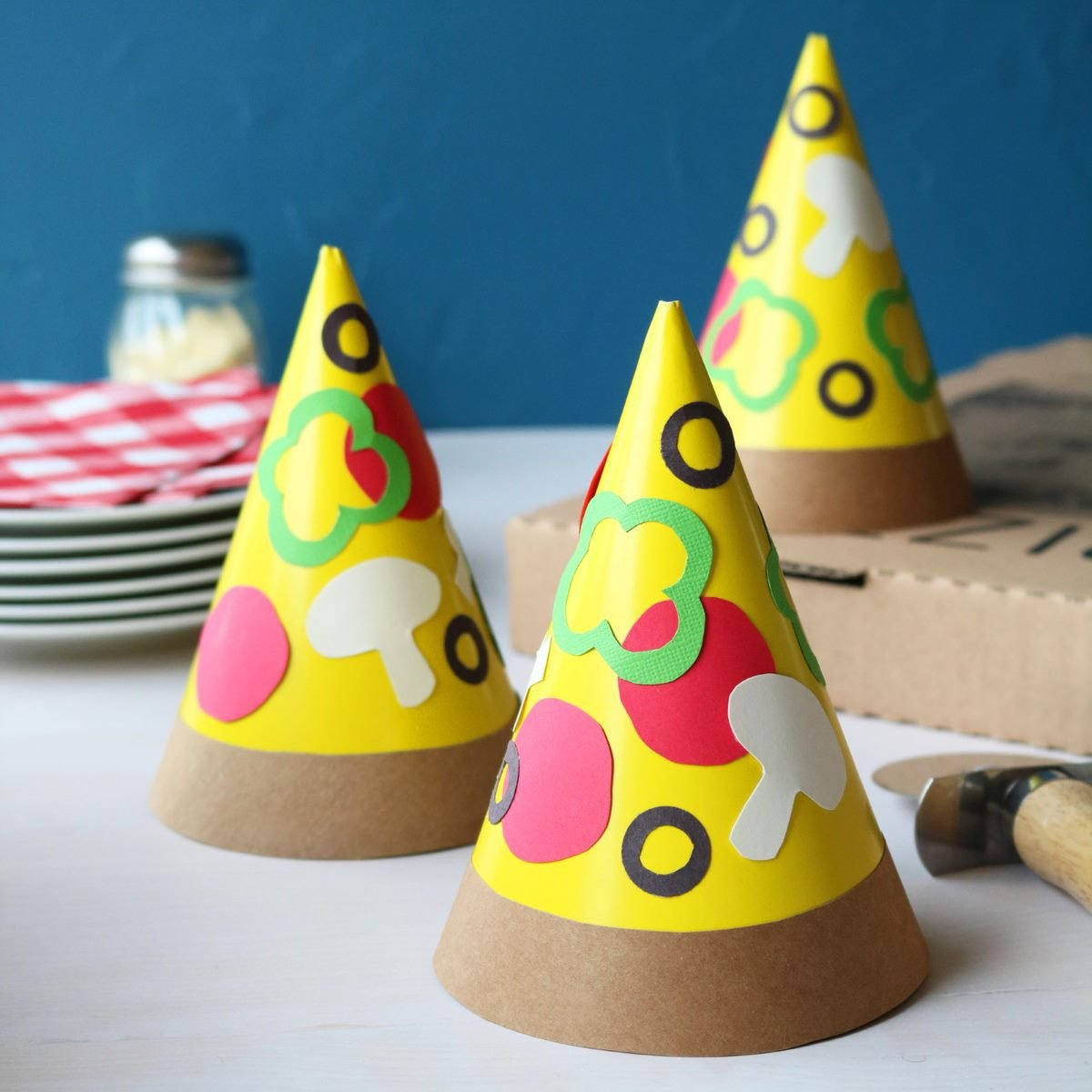 Pizza Party Hat
