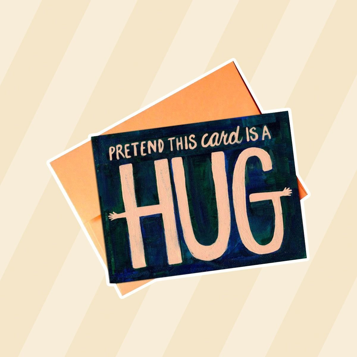 thinking of you gifts Pretend This Card Is A Hug