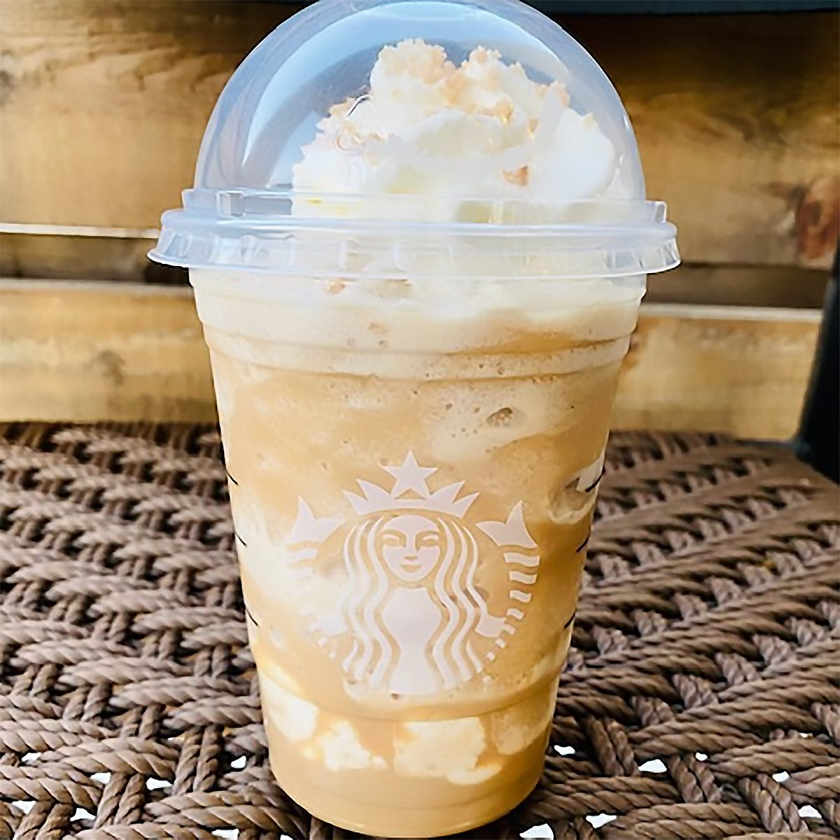 Starbucks Shortbread Girl Scout Cookie Frappuccino