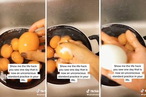 This Viral Video Shows You EXACTLY How to Peel Hard-Boiled Eggs