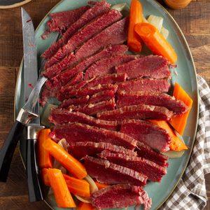Braised Corned Beef