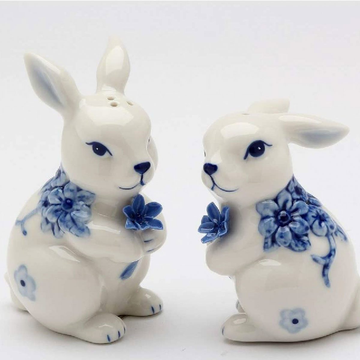vintage easter decorations Bunny Salt And Pepper Shakers