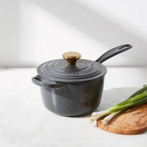 Le Creuset graphite saucepan