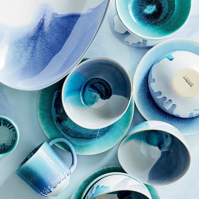 Caspian Reactive Glaze Blue Ja20