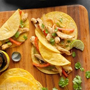 Chili-Lime Chicken Fajitas
