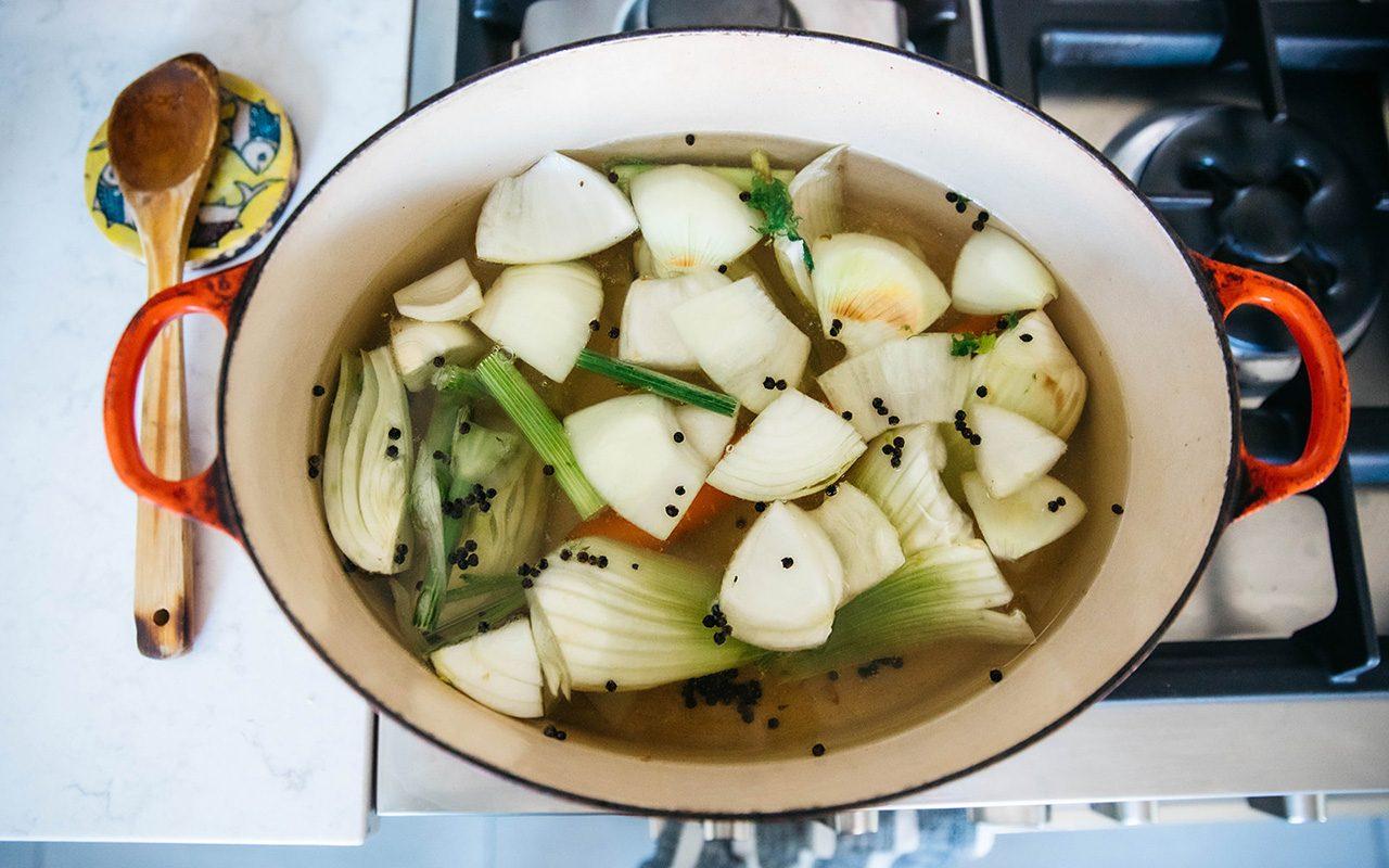 gefilte fish recipe make the broth