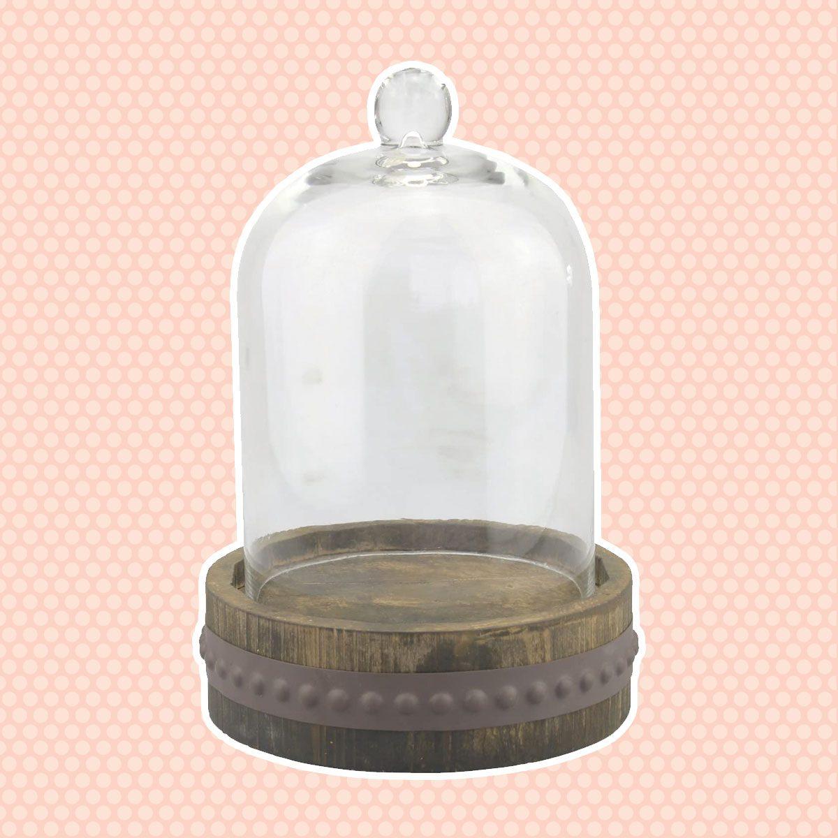 Glass Bell Jar vintage easter decorations