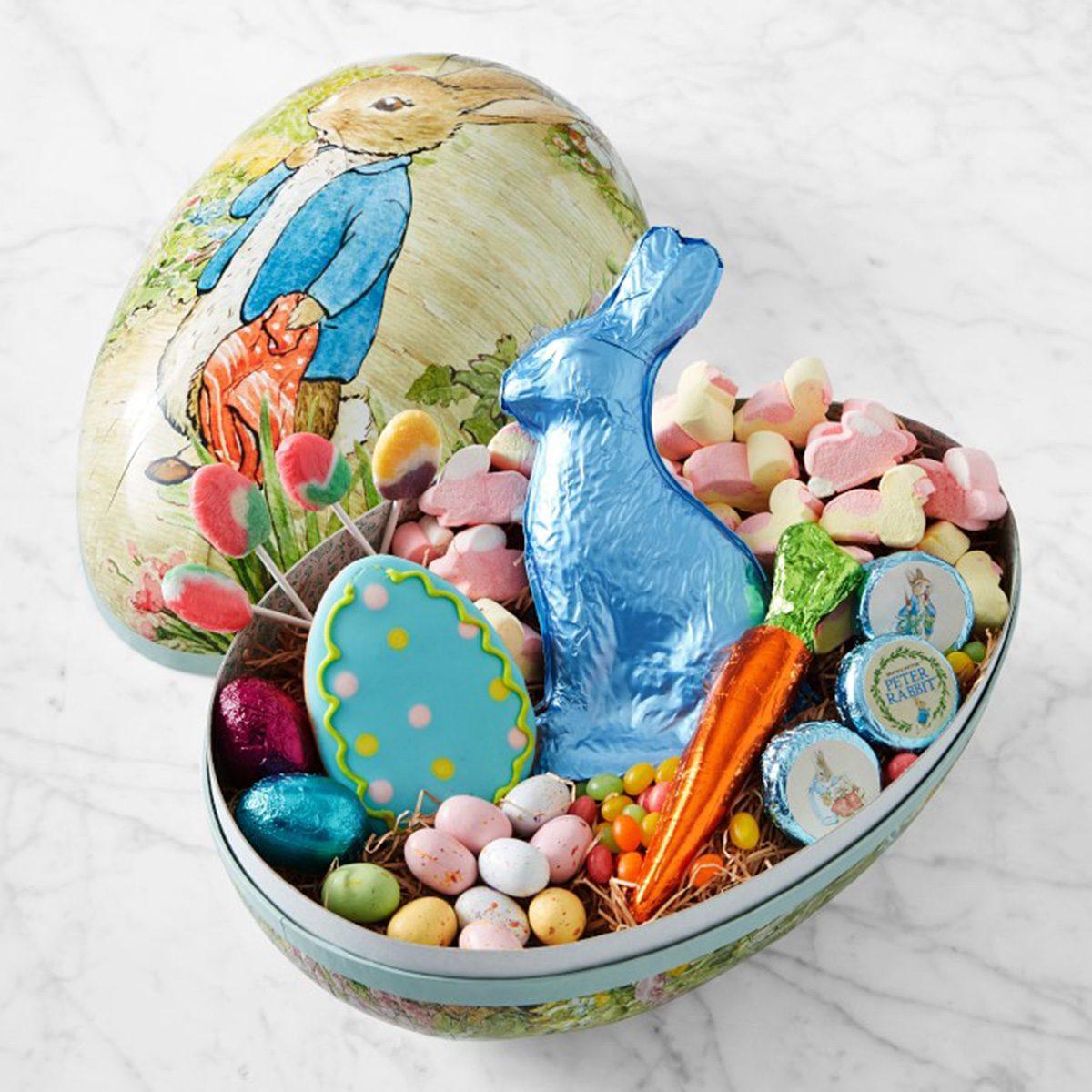 Peter Rabbit Egg vintage easter decorations