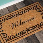 Welcome Mat Stenger Welcome Non Slip Outdoor Door Mat 1