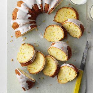 Summer Squash Pound Cake