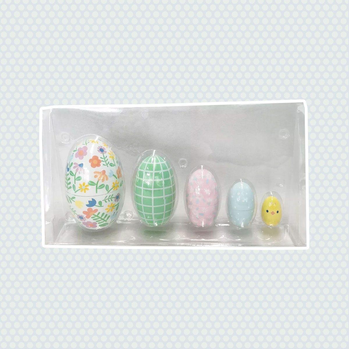 Easter Nesting Eggs vintage easter decorations