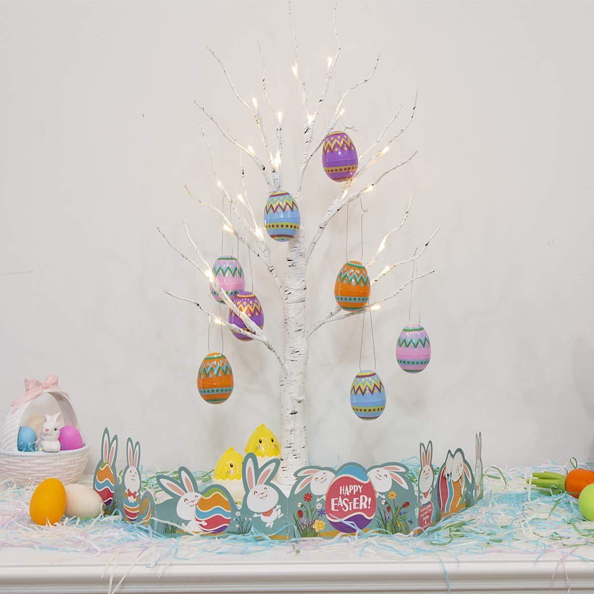 Easter Tree vintage easter decorations