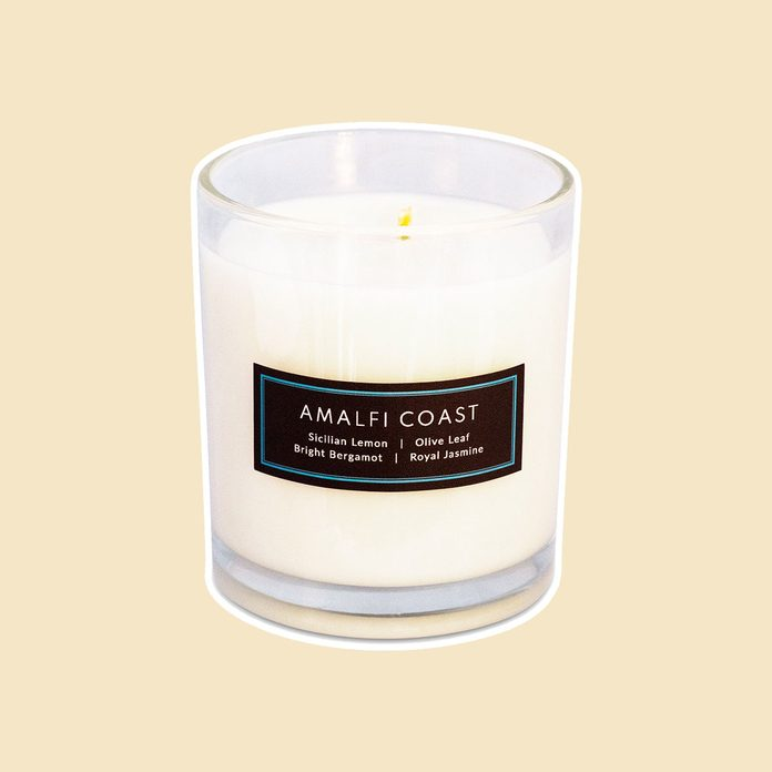 what to send mom for mother's day Experiential Candle Amalfi Coast