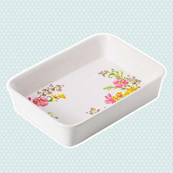 mother's day kitchen gifts Martha Stewart Collection Floral Lasagna Pan