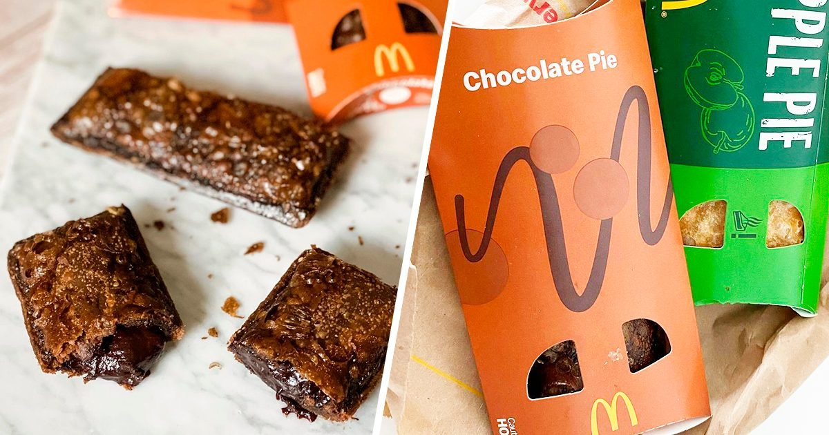 Bird box challenge my family pies Mcdonald S Chocolate Pie Is Back Here S Where To Get One