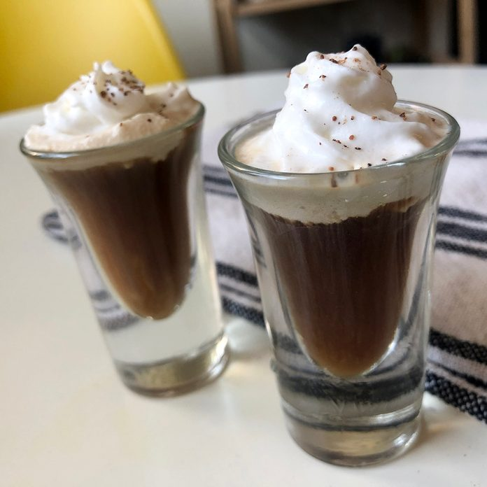 Mini Irish Coffee
