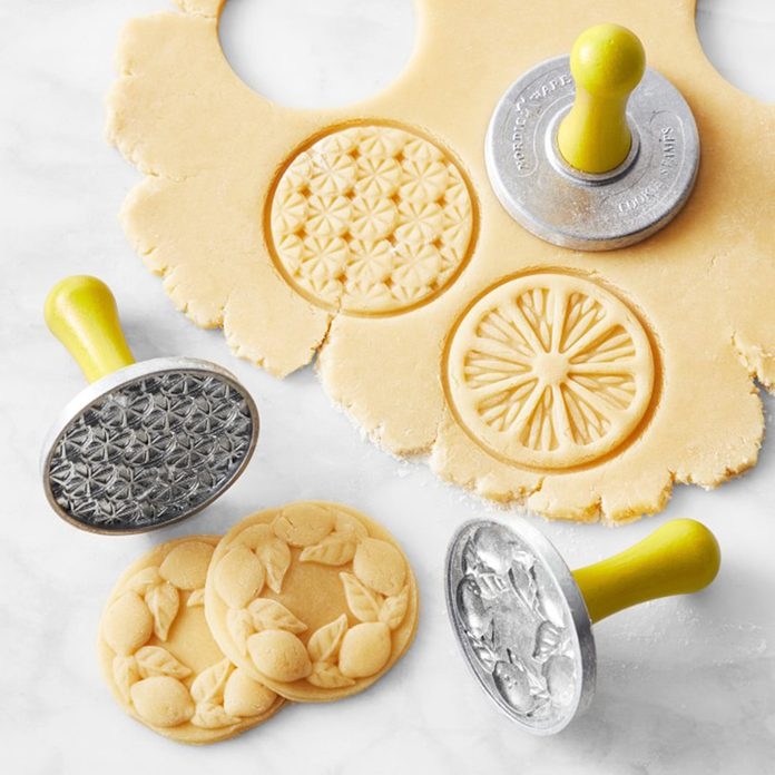 mother's day kitchen gifts Nordic Ware Citrus Cookie Stamps