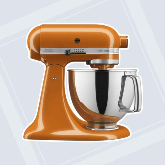 Orange Kitchenaid Stand Mixer 1