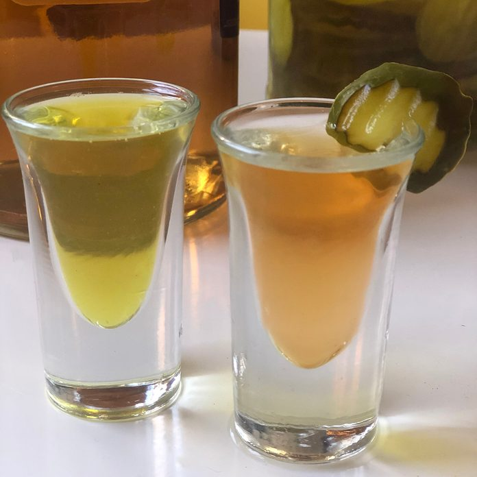 Pickleback Shot
