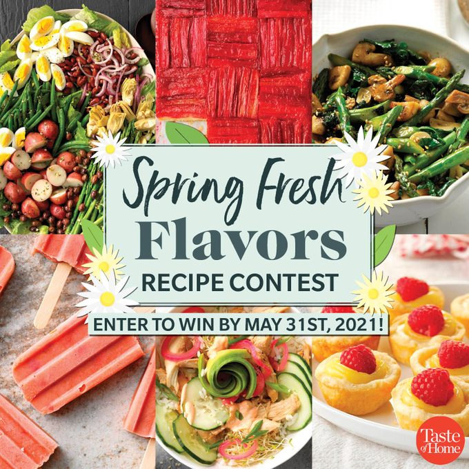 Spring Fresh Flavors Contest 1200x1200