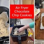 How to Make a Giant Air Fryer Chocolate Chip Cookie