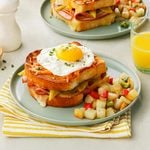 Chiles Rellenos Croque-Madame