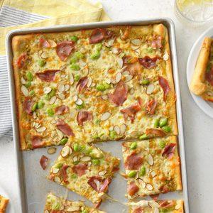 Prosciutto Pesto Pizza