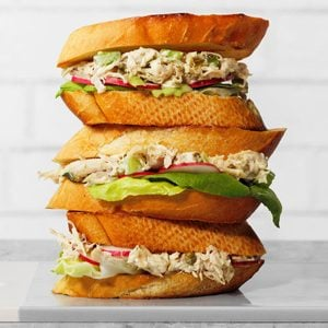 Toasted Chicken Salad Sandwiches